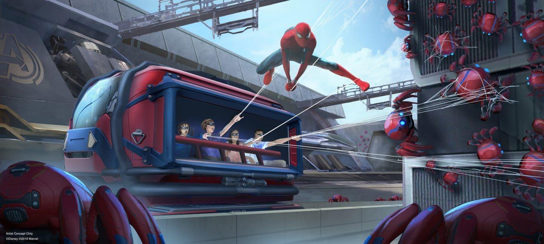 Disneyland Paris : un hôtel Marvel et une nouvelle attraction Spider Man !