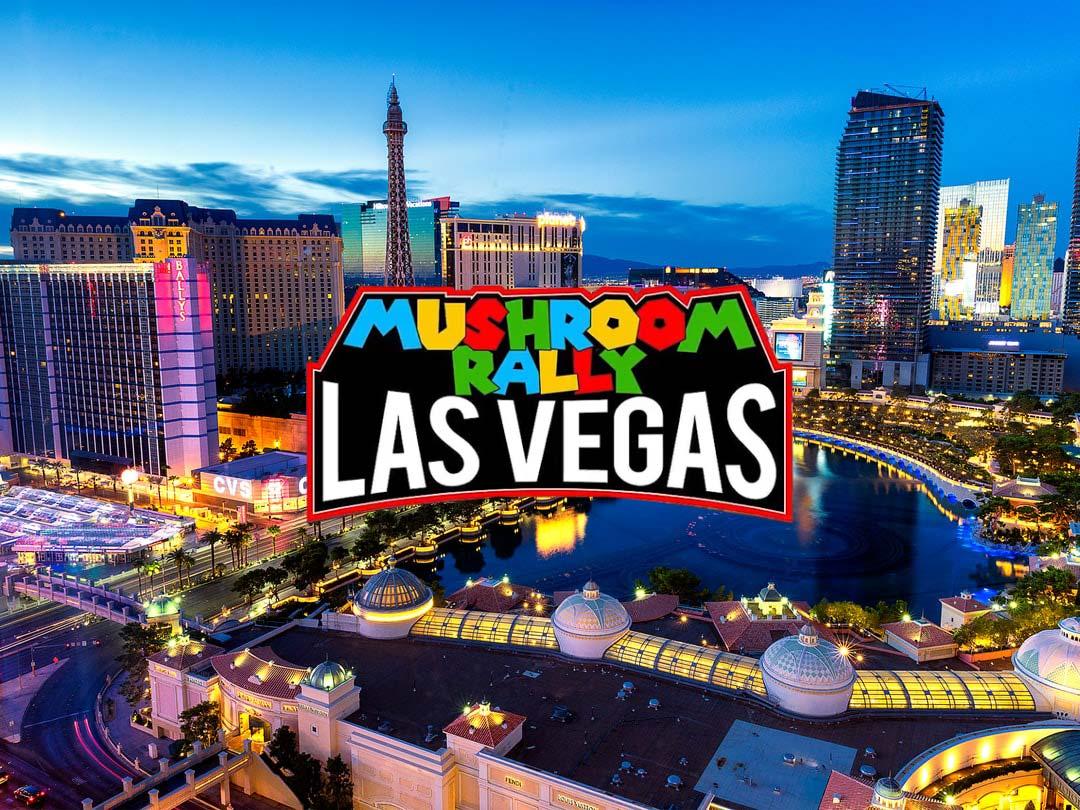 Gagne ton ticket pour le Championnat Mushroom Rally Las Vegas !