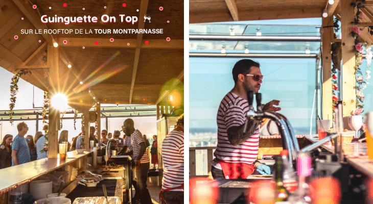 La Guinguette on top Montparnasse : pourquoi aller sur le plus haut rooftop de Paris plutôt qu'ailleurs ?