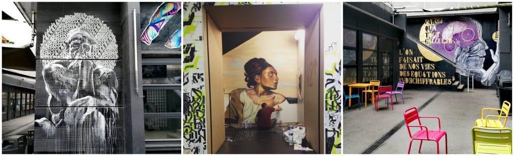 Spots galeries street art Paris