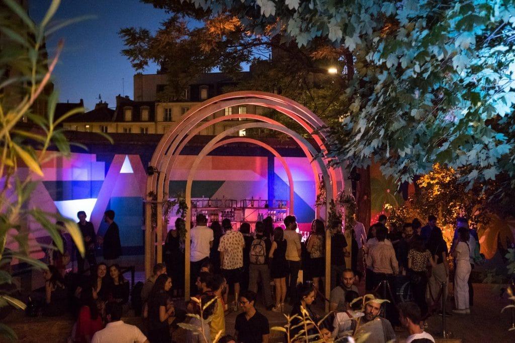 Bar à gin et DJ set de Jabberwocky pour la closing party de l'Eden Garden au Café A !