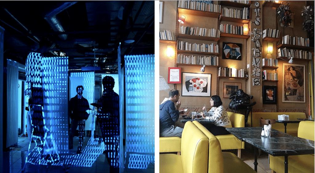 Insolite : découvrez les lieux hybrides de l'art à Paris
