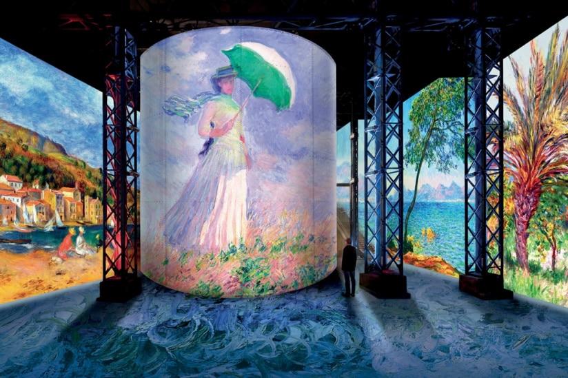 Monet, Renoir et Chagall : une nouvelle expérience immersive arrive à l'Atelier des Lumières !