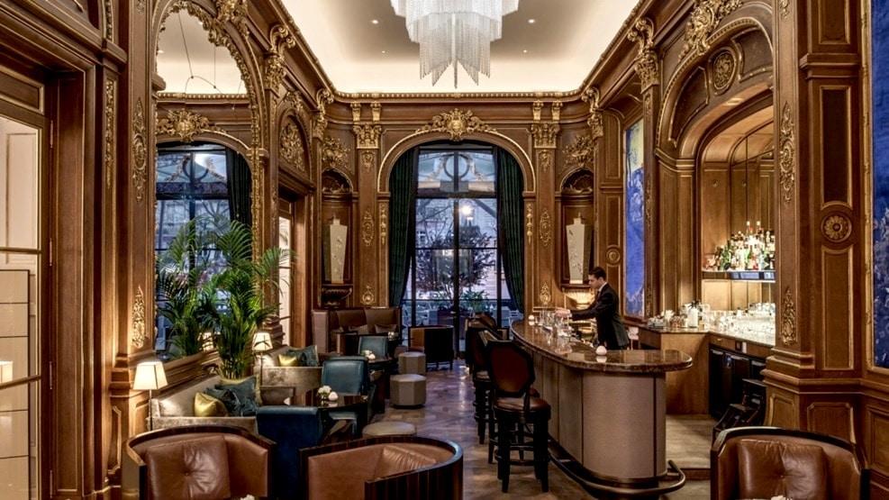 À la découverte des plus beaux bars d'Hôtels de Paris !