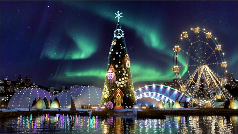 Le plus grand parc thématique de Noël d'Europe vient d'ouvrir ses portes !