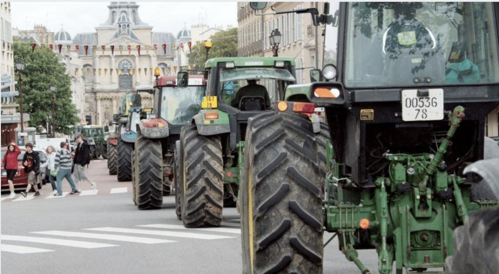 Les agriculteurs en colère : plus de 1000 tracteurs vont bloquer Paris mercredi 27 novembre !