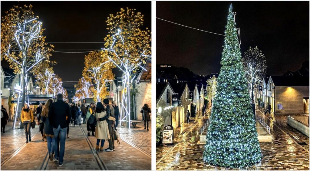 «Une forêt et ses secrets» : les illuminations de Noël féériques de Bercy Village !