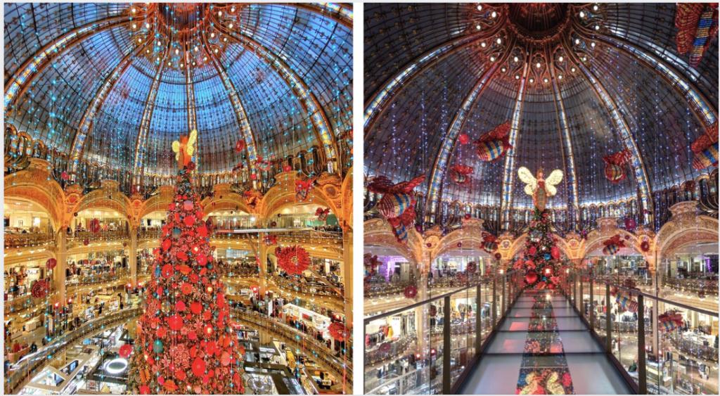 Vitrines, sapin et ruche : le fabuleux Noël des Galeries Lafayette se dévoile enfin !