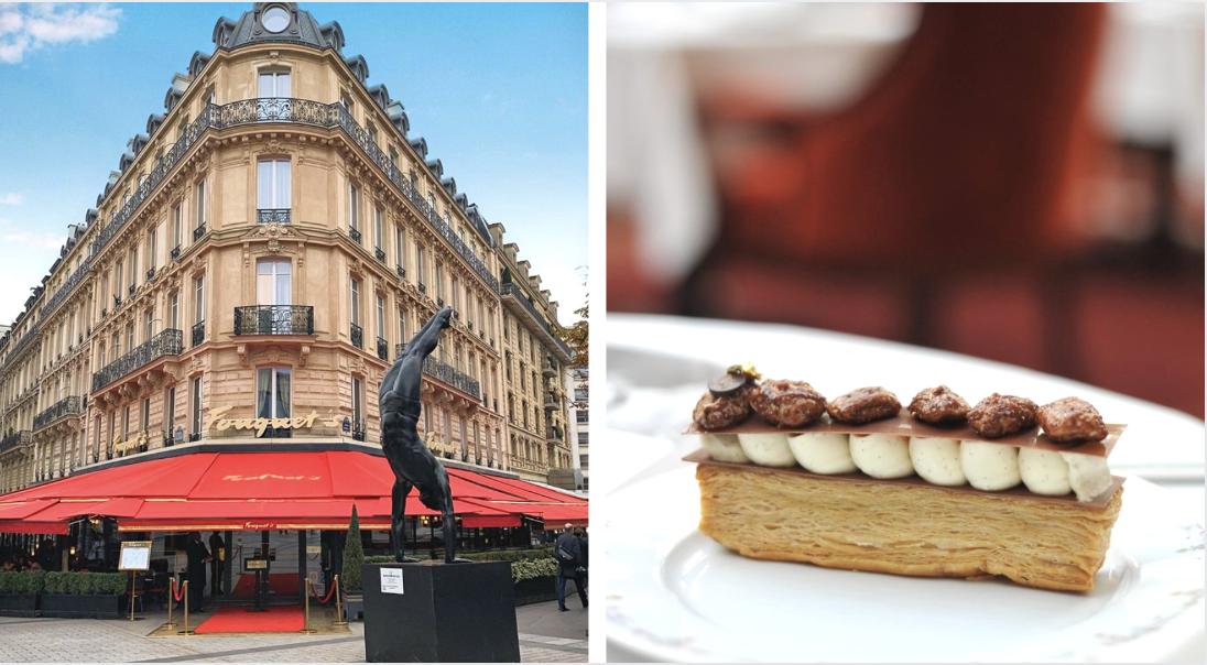 Pour ses 120 ans, le Fouquet's distribue GRATUITEMENT 2000 Millefeuilles !