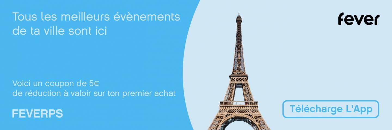 Paris Secret Code de réduction: FEVERPS