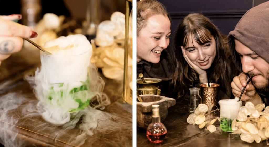 Paris : dans le 1er escape bar de France, on résout des énigmes pour boire des potions !
