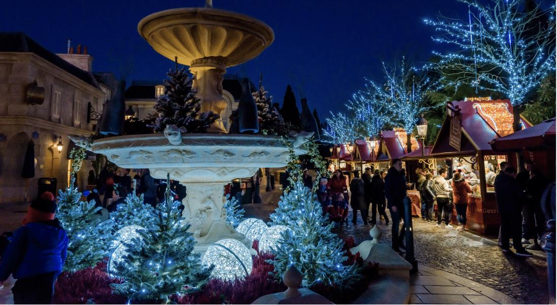 L'Hiver Gourmand : un marché de Noël s'est installé à Disney Land Paris !