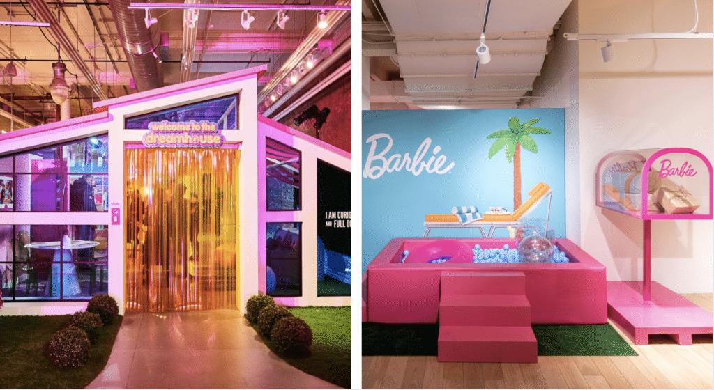 Un pop up store Barbie installé aux Galeries Lafayette à Paris !