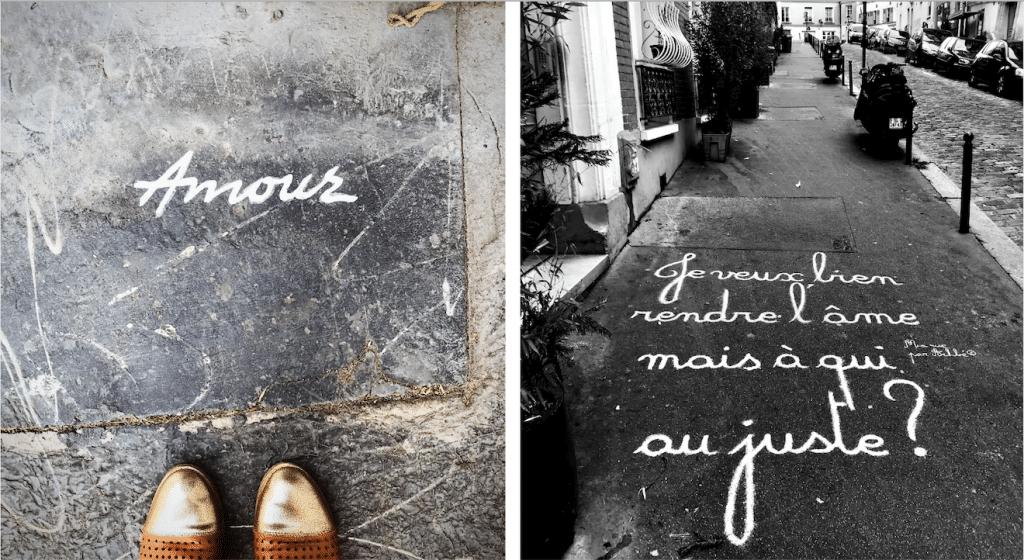 Street art : les mots sur les trottoirs s'exposent dans une galerie parisienne !