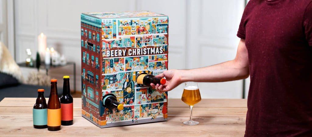Beery Christmas : le calendrier de l'avant à 24 bières qui fait le buzz !