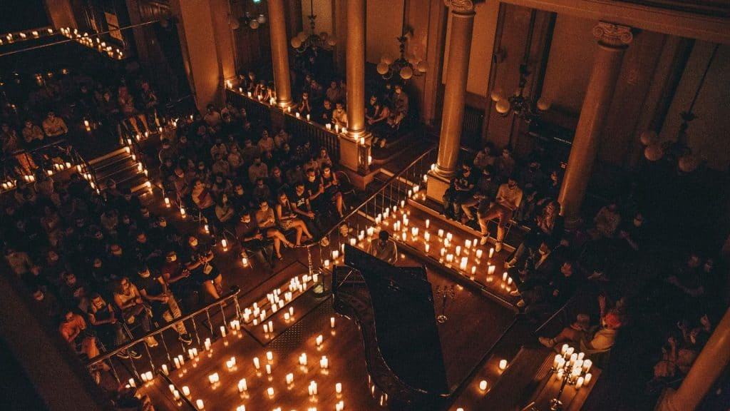 inja candlelight paris concert noel musique classique bougie