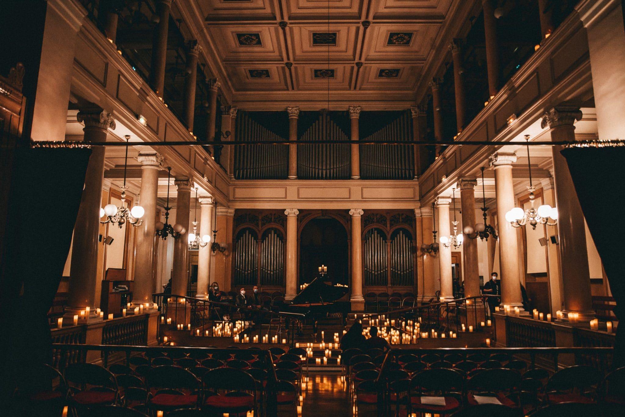 candlelight inja paris noel concert à la bougie