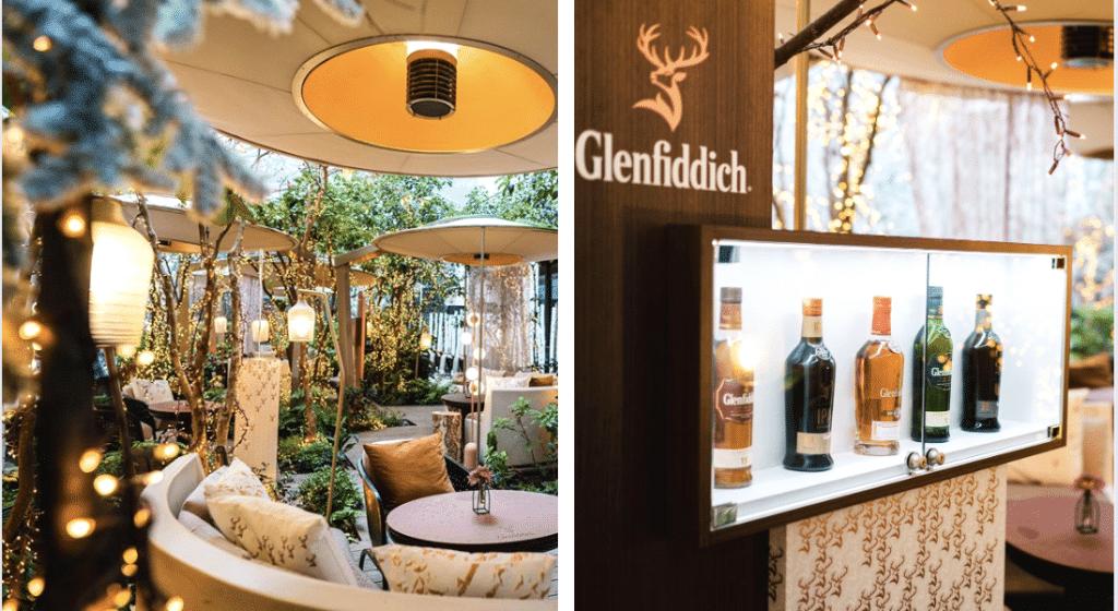 Une forêt enchantée éphémère dédiée au whisky à Paris !