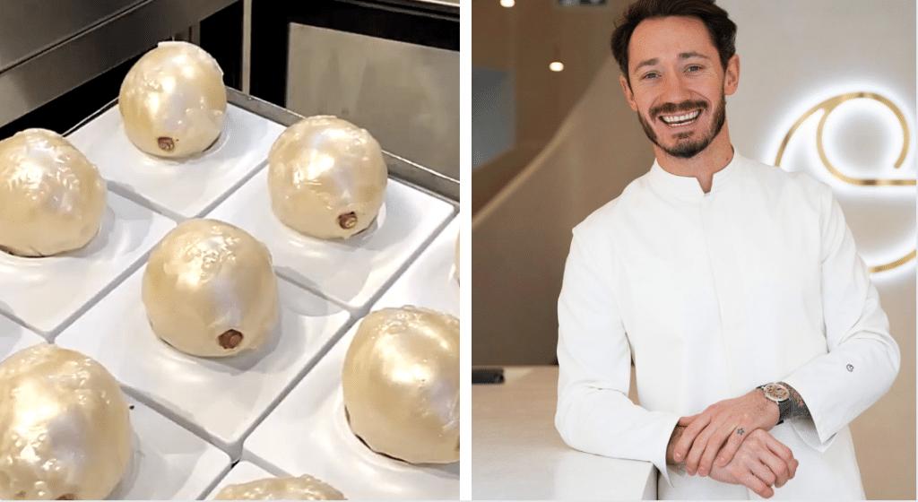 Pour «Citron» Cédric Griolet signe une pâtisserie hivernale acidulée en édition limitée