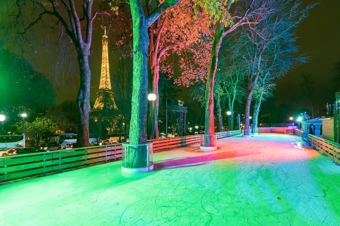 Cet hiver, une patinoire éphémère s'installe dans les Jardins du Trocadéro !