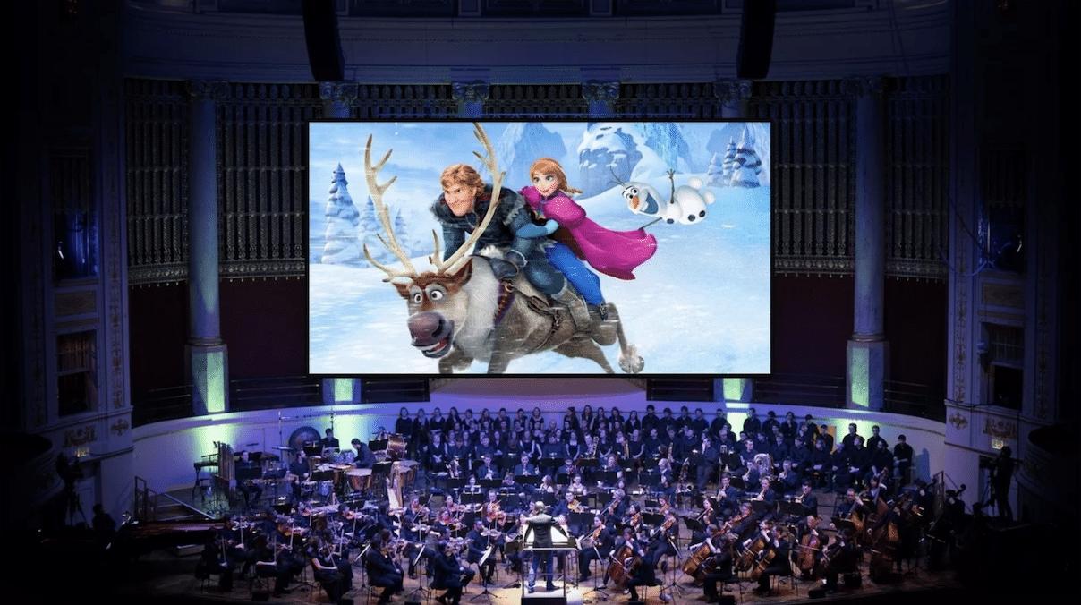 Un gigantesque ciné-concert Disney arrive à Paris puis dans toute la France en 2020 !