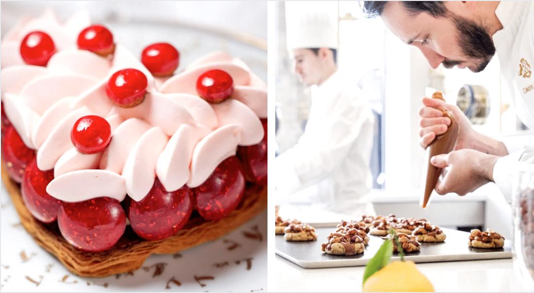Pour la Saint Valentin, Cédric Grolet, meilleur chef pâtissier du monde revisite le Saint-Honoré