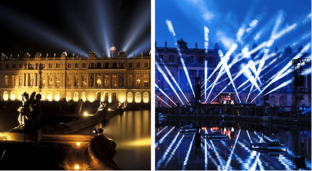 Une gigantesque soirée techno organisée au Château de Versailles !