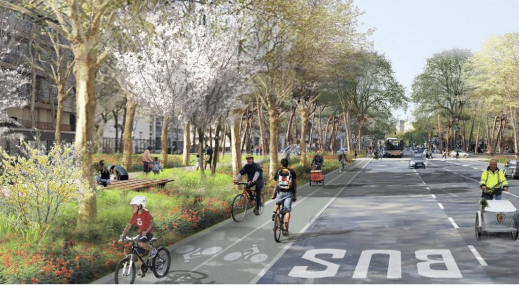 Anne Hidalgo annonce 60 000 places de stationnement supprimées, remplacées par des pistes cyclables !