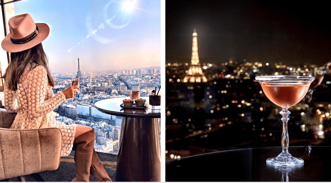 Un nouveau SkyBar à la vue époustouflante, perché au 34ème étage d'un hôtel parisien !