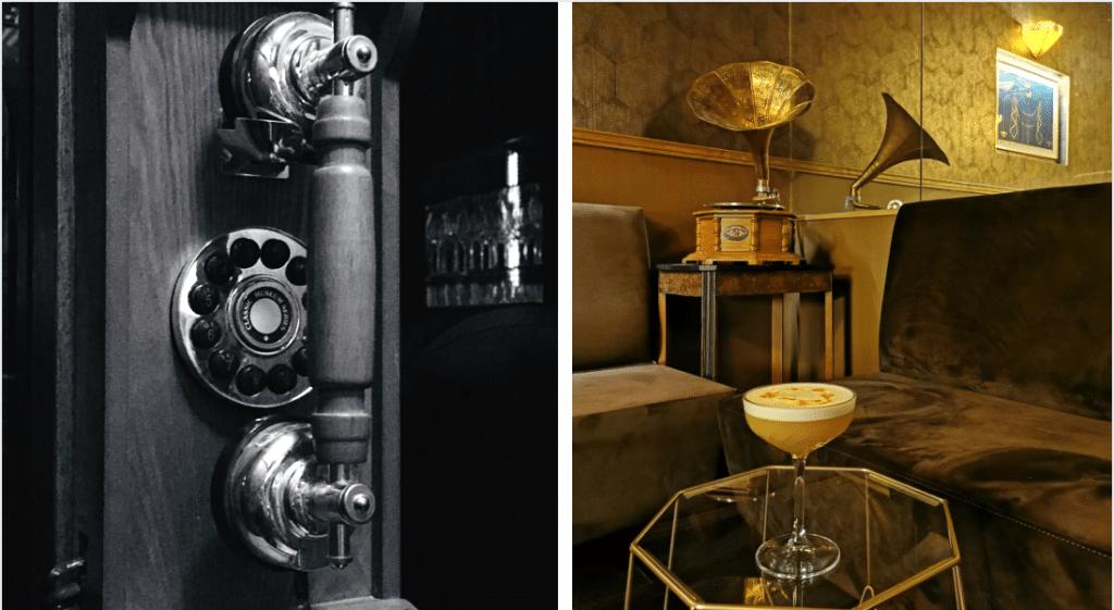 Paris : un nouveau speakeasy style Gatsby caché derrière une cabine téléphonique !
