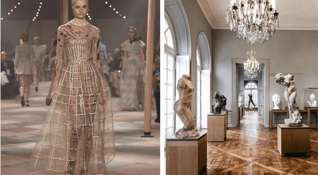 Fashion week 2020 : pour son défilé haute couture, Dior investit le musée Rodin
