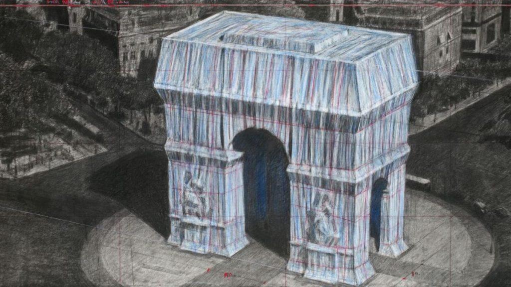 En 2020, Christo va emballer l'Arc de Triomphe à Paris !
