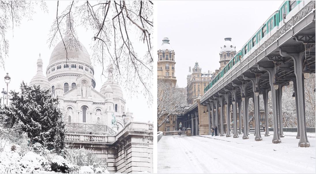 La neige de retour à Paris dès demain !