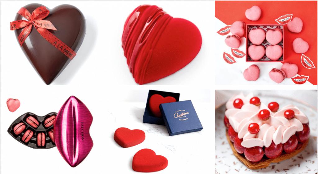 Paris : les plus belles pâtisseries et gourmandises de Saint Valentin en édition limitée !