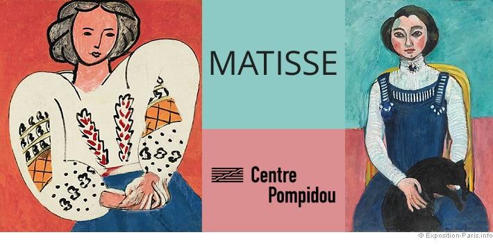 L'extraordinaire exposition dédiée à Henri Matisse arrive enfin au Centre  Pompidou ! - Paris Secret