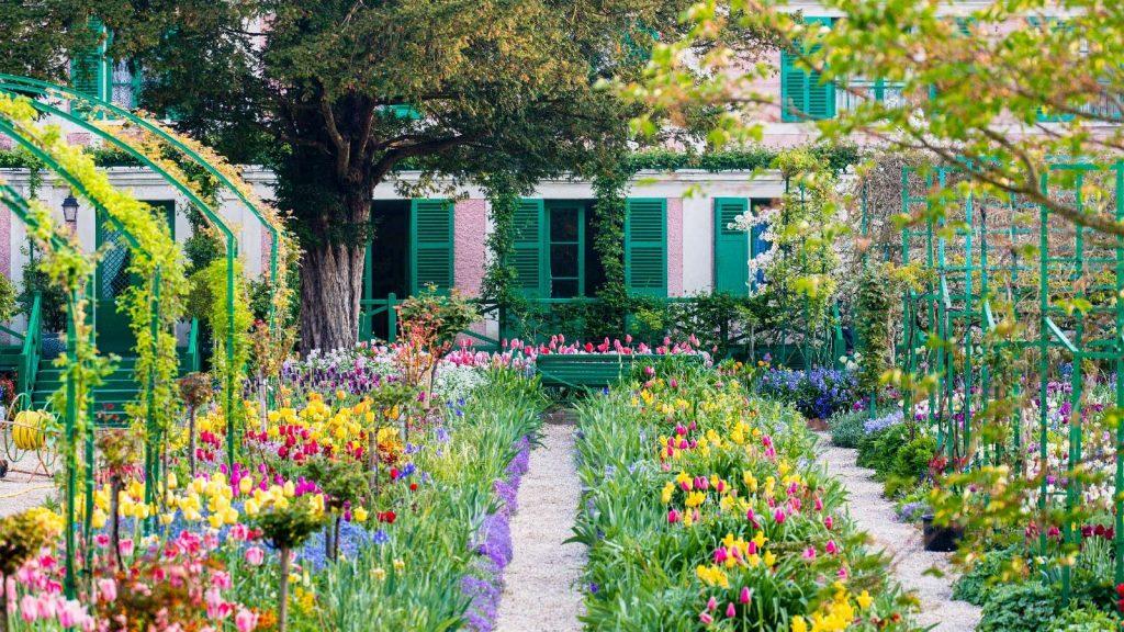 Reconfinement visite virtuelle Giverny maison de Monet