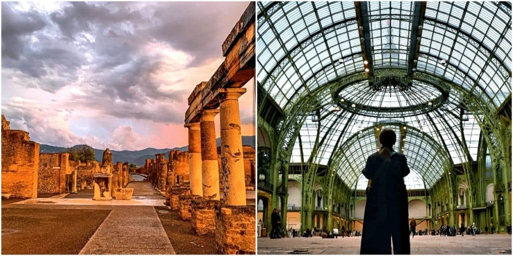 Une fascinante expo immersive reconstitue la ville de Pompéi au Grand Palais !
