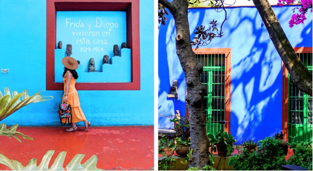 Confinement : explorez gratuitement «La Casa Azul» de Frida Kahlo au Mexique !