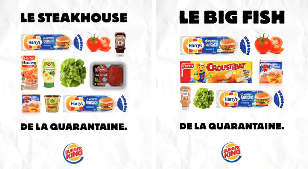 Burger King vous donne ses recettes pour reproduire ses burgers à la maison !