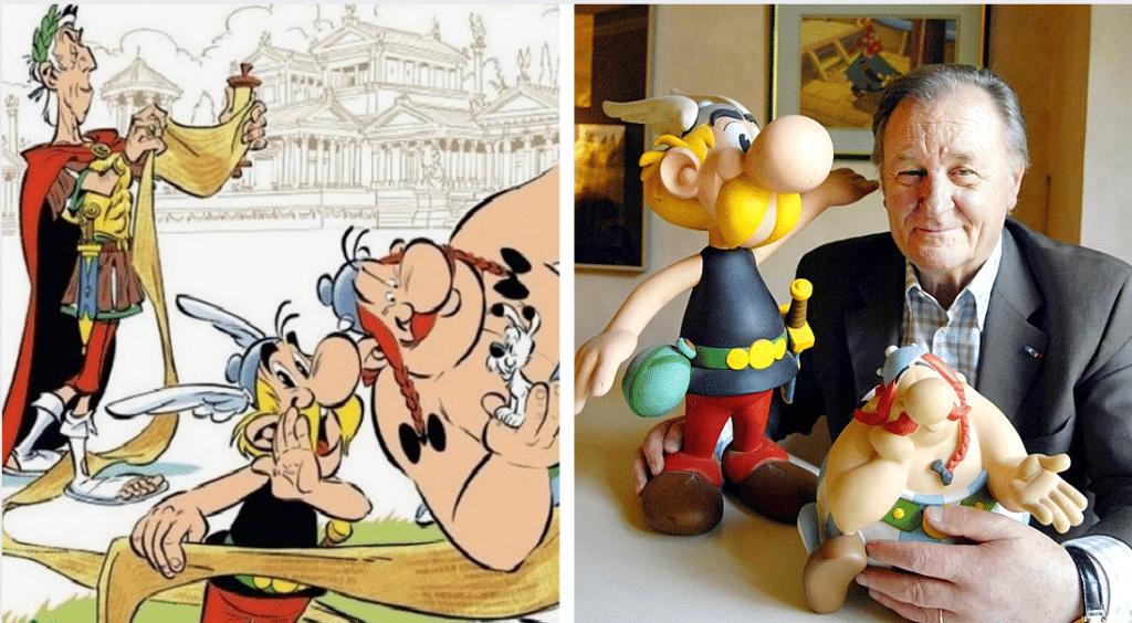Albert Uderzo, le dessinateur d'Astérix, est mort à l'âge de 92 ans !