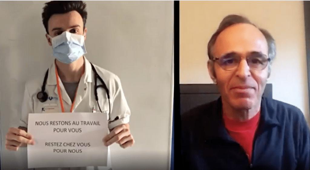 «Ils sauvent nos vies» : Jean-Jacques Goldman dédie une merveilleuse chanson au personnel soignant !