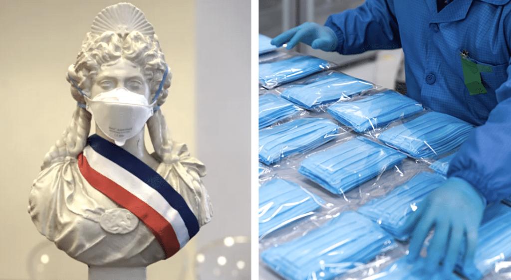 Coronavirus : la France commande 250 millions de masques de protection !