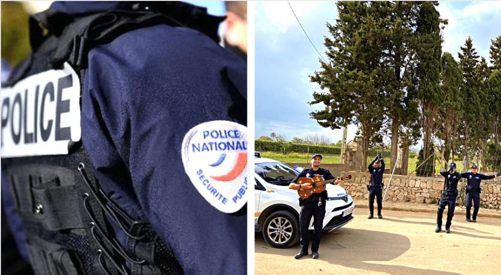 Coronavirus : de Paris aux Baléares, ces policiers chantent et dansent pour les habitants confinés !
