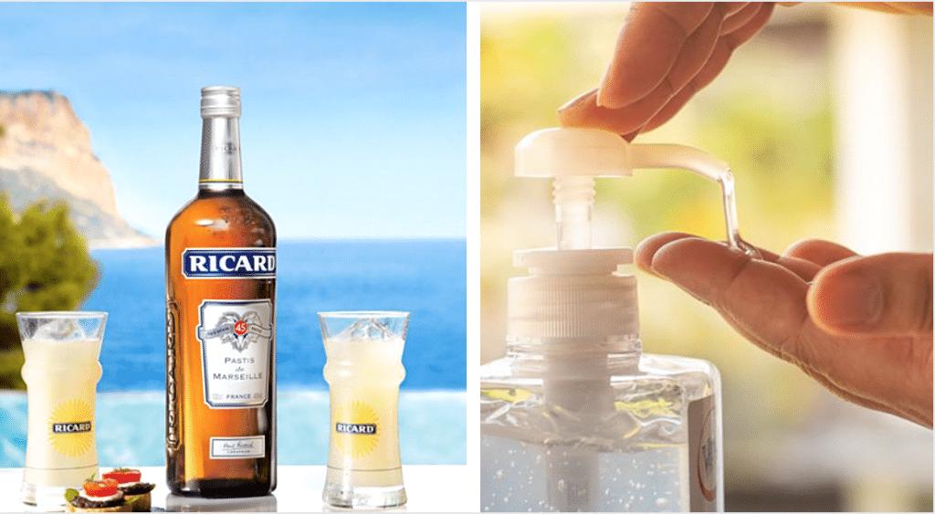 Ricard offre 70 000 litres d'alcool pour fabriquer du gel hydroalcoolique !
