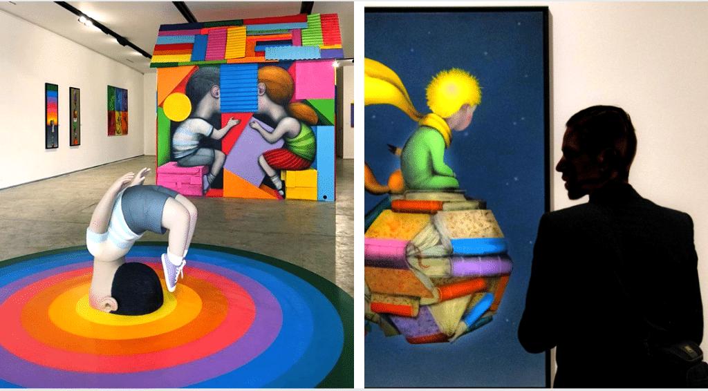 Pourquoi faut-il absolument voir «Playtime» l'expo éphémère du street artiste Seth à Paris ?