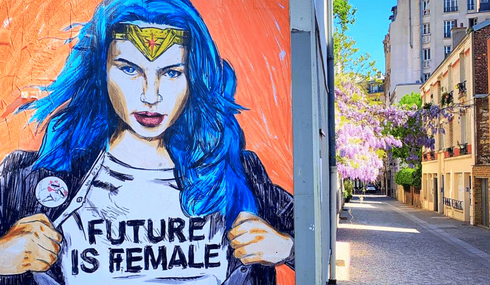 Journée des droits des femmes : les plus beaux graffitis féministes de Paris !