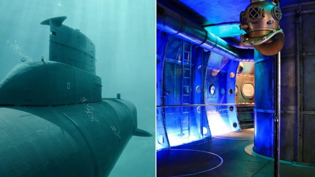 Une expérience immersive & dégustation de cocktails dans pop-up sous-marin à Paris !