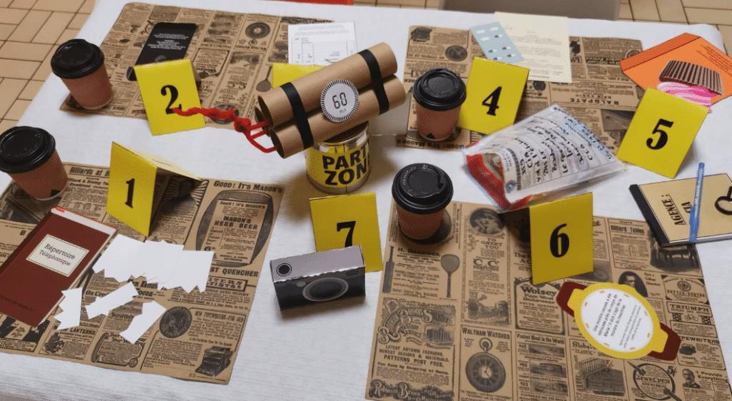 Reconfinement : organisez d'extraordinaires Escapes Games à la maison avec Escape Kit !
