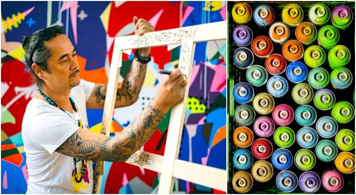 Ce week-end, une oeuvre de street art réalisée en live au profit des Hôpitaux !