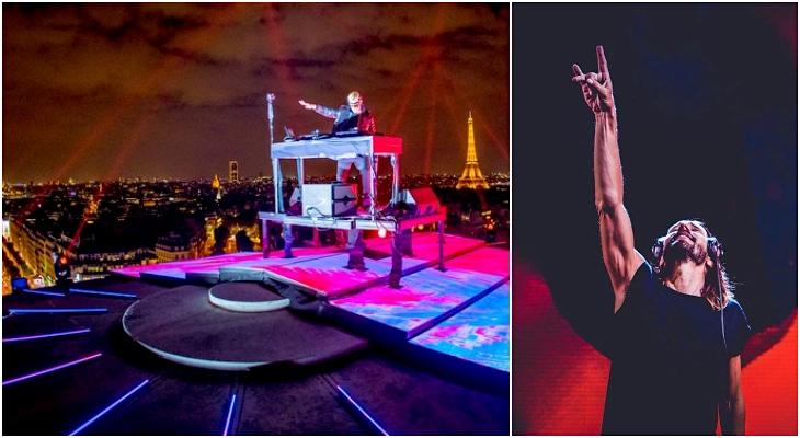Le DJ Bob Sinclar en concert exceptionnel lundi 4 mai au sommet de l'Arc de Triomphe !